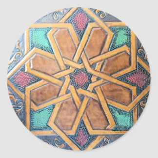 Adesivo Redondo Design #1 de Alhambra