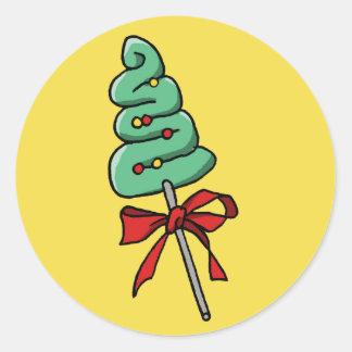 Adesivo Redondo Doces do Natal