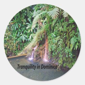 Adesivo Redondo Dominica