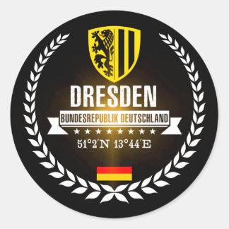 Adesivo Redondo Dresden