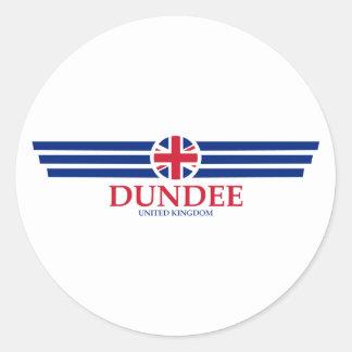 Adesivo Redondo Dundee