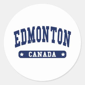Adesivo Redondo Edmonton