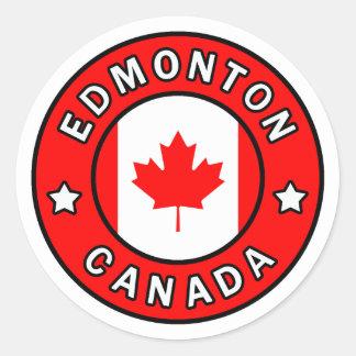 Adesivo Redondo Edmonton Canadá