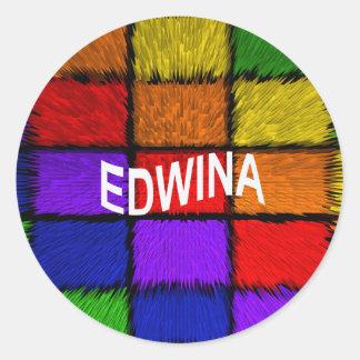 ADESIVO REDONDO EDWINA