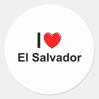Adesivo Redondo El Salvador
