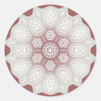 Adesivo Redondo elemento 4,3