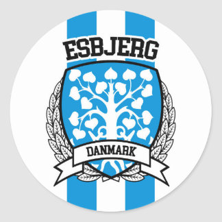 Adesivo Redondo Esbjerg