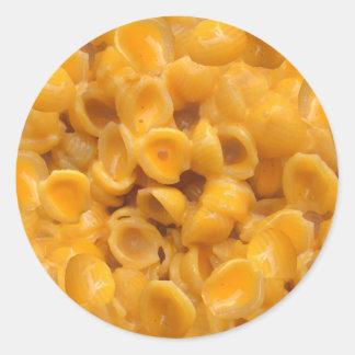 Adesivo Redondo escudos e queijo