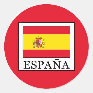 Adesivo Redondo España