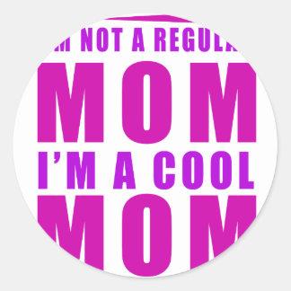 Adesivo Redondo Eu não sou uma mamã que do regulus eu sou mãe