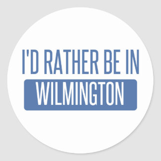 Adesivo Redondo Eu preferencialmente estaria em Wilmington DE