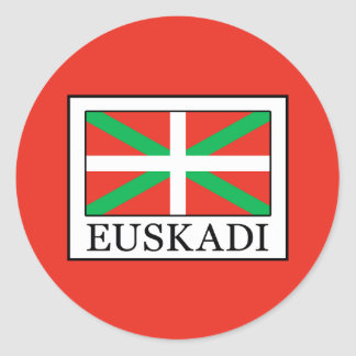 Adesivo Redondo Euskadi