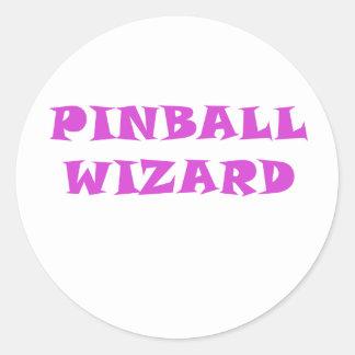 Adesivo Redondo Feiticeiro do Pinball