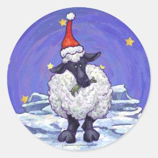 Adesivo Redondo Feriado festivo dos carneiros