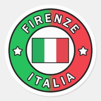 Adesivo Redondo Firenze Italia