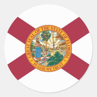 Adesivo Redondo Florida