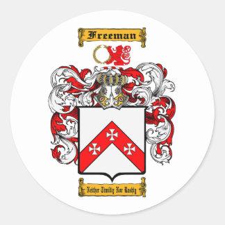 Adesivo Redondo Freeman (irlandês)
