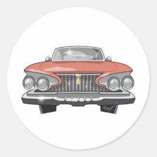 Adesivo Redondo Fúria 1961 de Plymouth