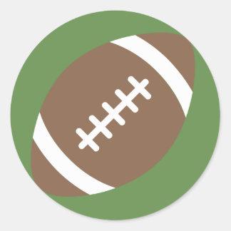 Adesivo Redondo Futebol Emoji
