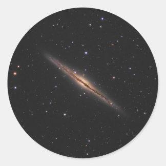 Adesivo Redondo Galáxia espiral da NASA de Caldwell 23