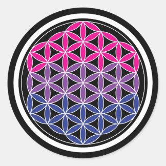 Adesivo Redondo geometria biSacred