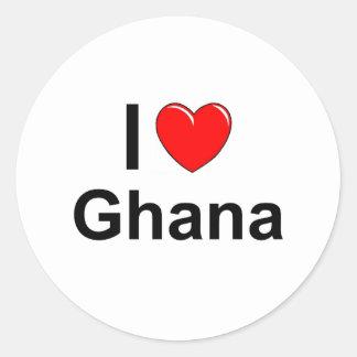 Adesivo Redondo Ghana
