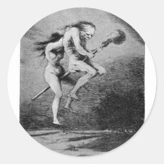 Adesivo Redondo Goya_-_Caprichos_