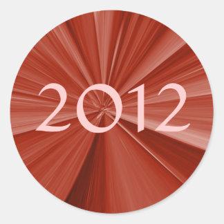 Adesivo Redondo Graduação 2012