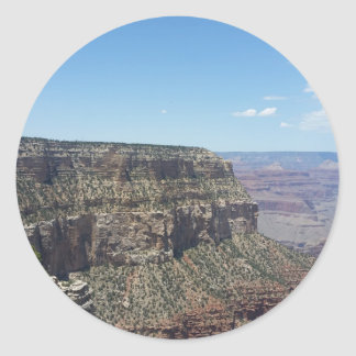 Adesivo Redondo Grand Canyon - borda sul