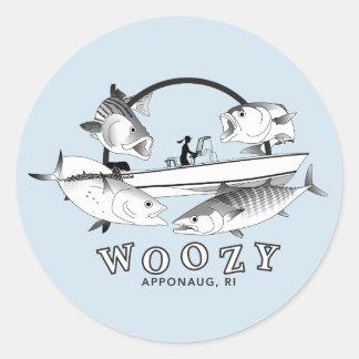 Adesivo Redondo Grand slam costeiro Woozy de Seacraft