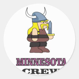 Adesivo Redondo Grupo de Minnesota