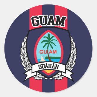 Adesivo Redondo Guam