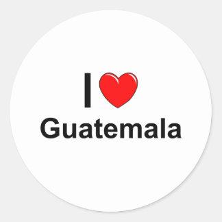 Adesivo Redondo Guatemala