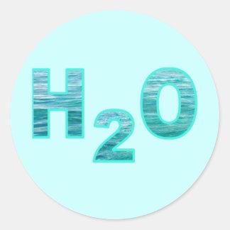 ADESIVO REDONDO H2O