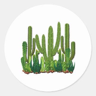 Adesivo Redondo Habitat de Sonoran