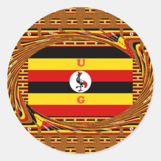 Adesivo Redondo Hakuna surpreendente bonito Matata Uganda bonito