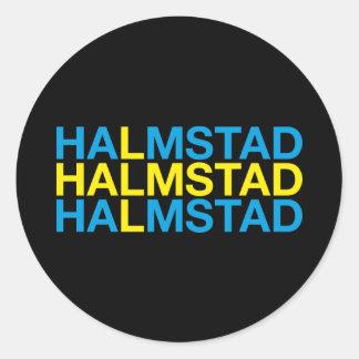 ADESIVO REDONDO HALMSTAD
