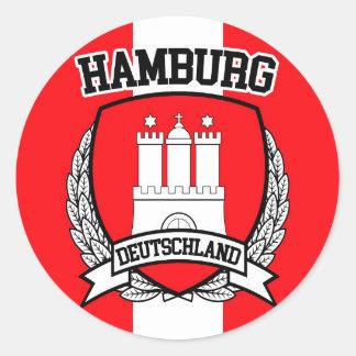 Adesivo Redondo Hamburgo