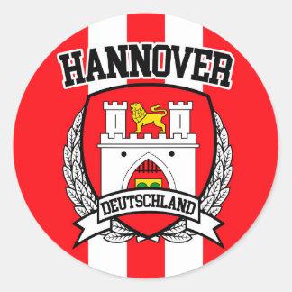 Adesivo Redondo Hannover