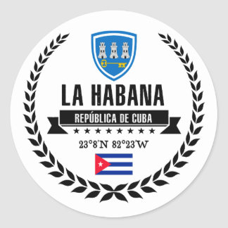 Adesivo Redondo Havana
