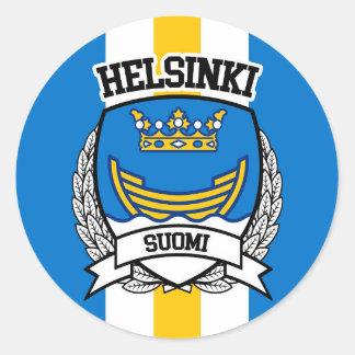 Adesivo Redondo Helsínquia