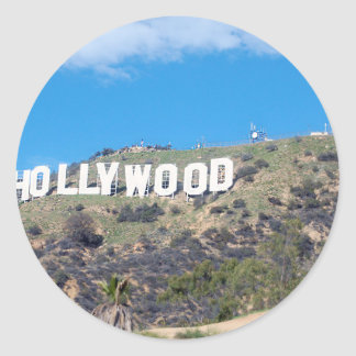 Adesivo Redondo Hollywood Hills