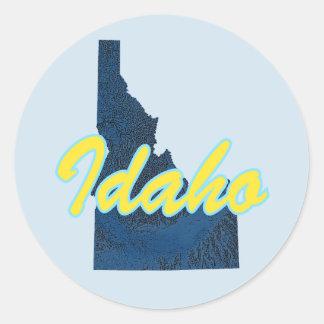 Adesivo Redondo Idaho