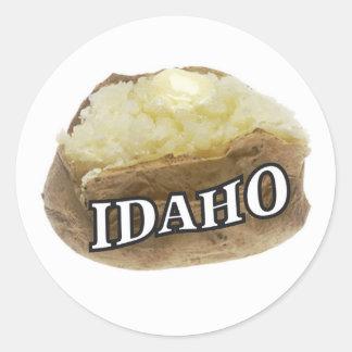 Adesivo Redondo Idaho spud