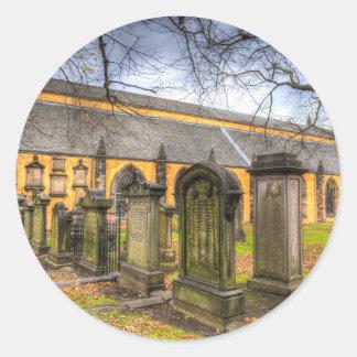 Adesivo Redondo Igreja de Greyfriars Kirk
