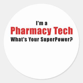 Adesivo Redondo Im uma tecnologia da farmácia o que é sua