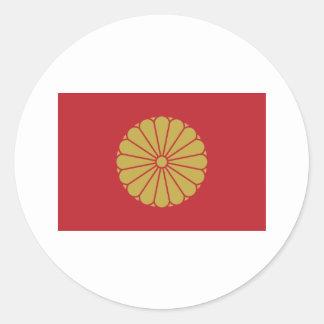 Adesivo Redondo Imperador de Japão