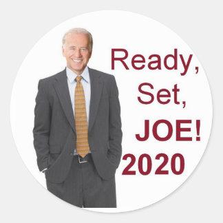 Adesivo Redondo Joe Biden 2020