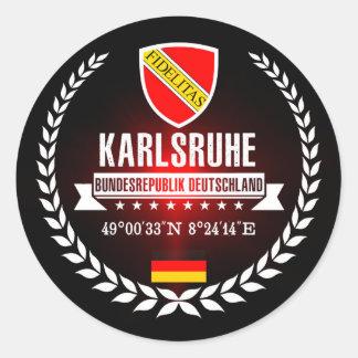 Adesivo Redondo Karlsruhe