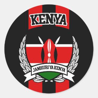 Adesivo Redondo Kenya